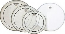 "Remo PP-0312-PS  набор пластиков Pinstripe Clear 12"", 13"", 16"", Powerstroke 3 Coated 14"""